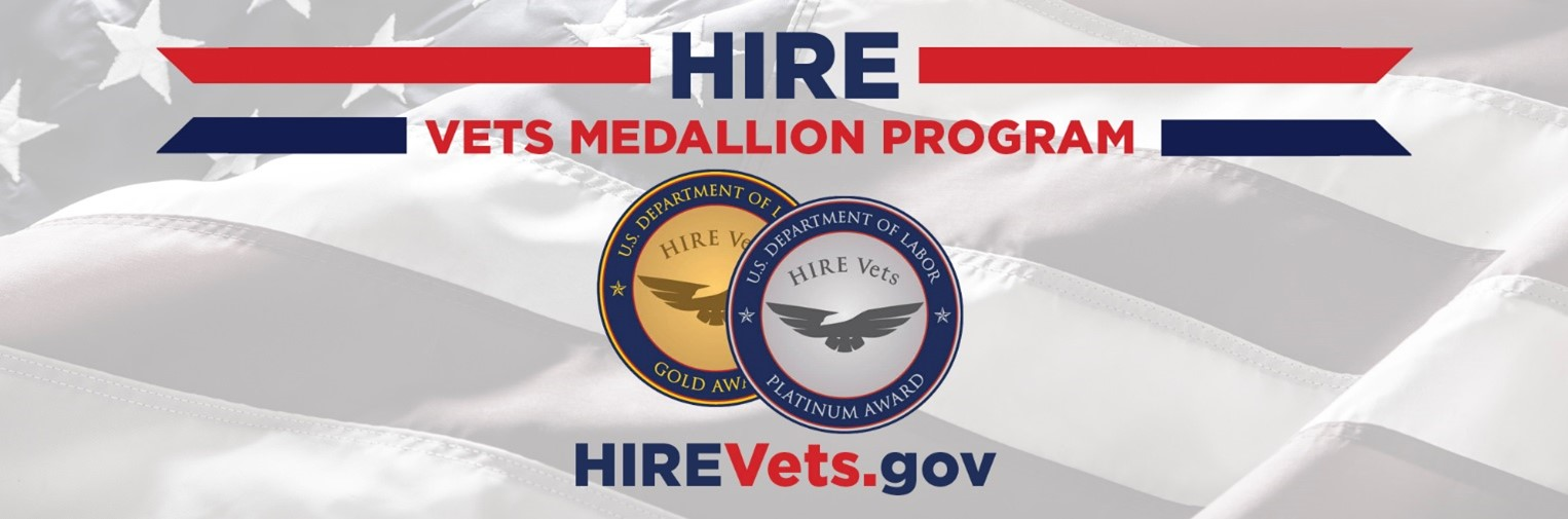 AZP Receives 2020 HIRE VETS Gold Medallion Award from U.S. Department of Labor